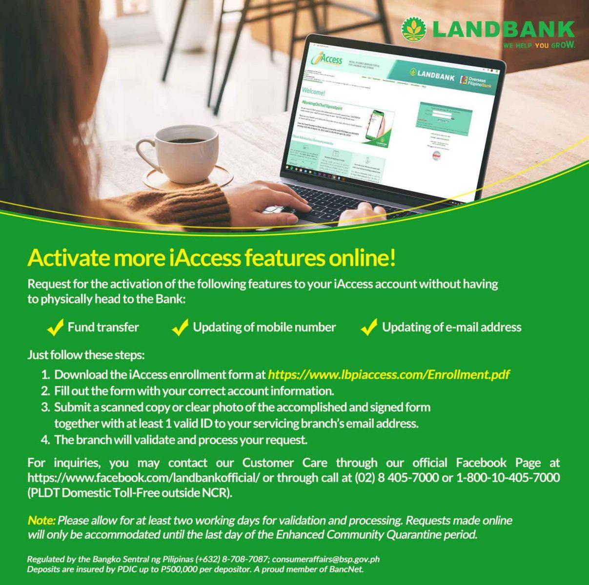 landbank iaccess